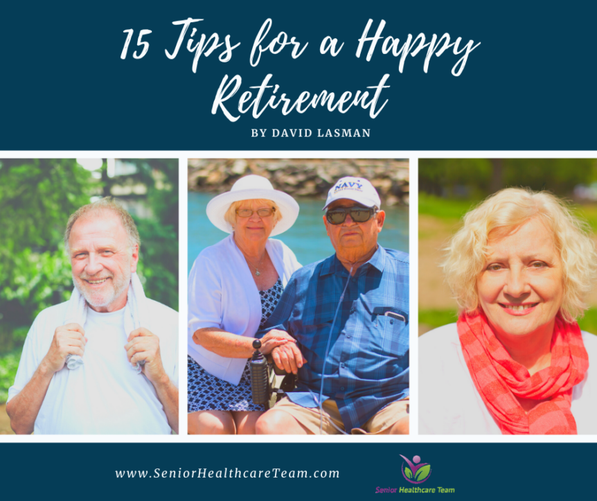15 Tips for a Happy Retirement