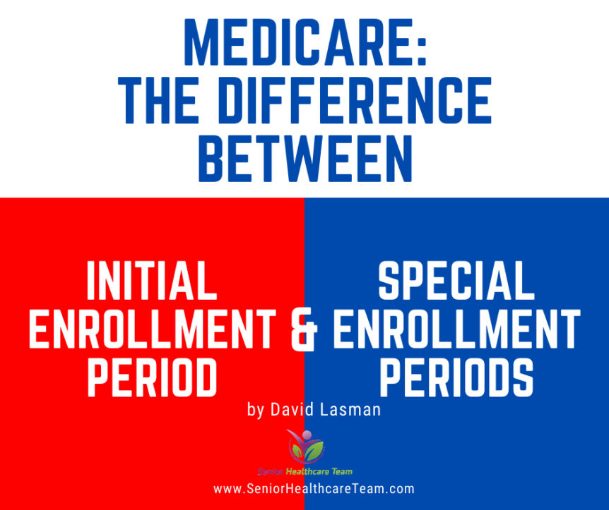 Medicare The Difference Between Initial Enrollment Period and Special Enrollment Periods